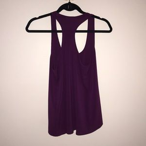 Frenchi Tops - Dark purple Chiffon tank top blouse